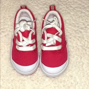 Graham Red Canvas Keds